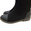 Black-suede-leather-flat-boots2 (YS)