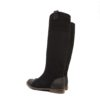 Black-suede-leather-flat-boots3 (YS)